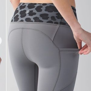 Lululemon All the Right Places Crop In Slate